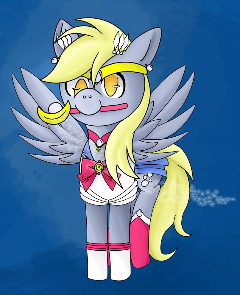 Sailor Derpy Moon by ForeverRoseify