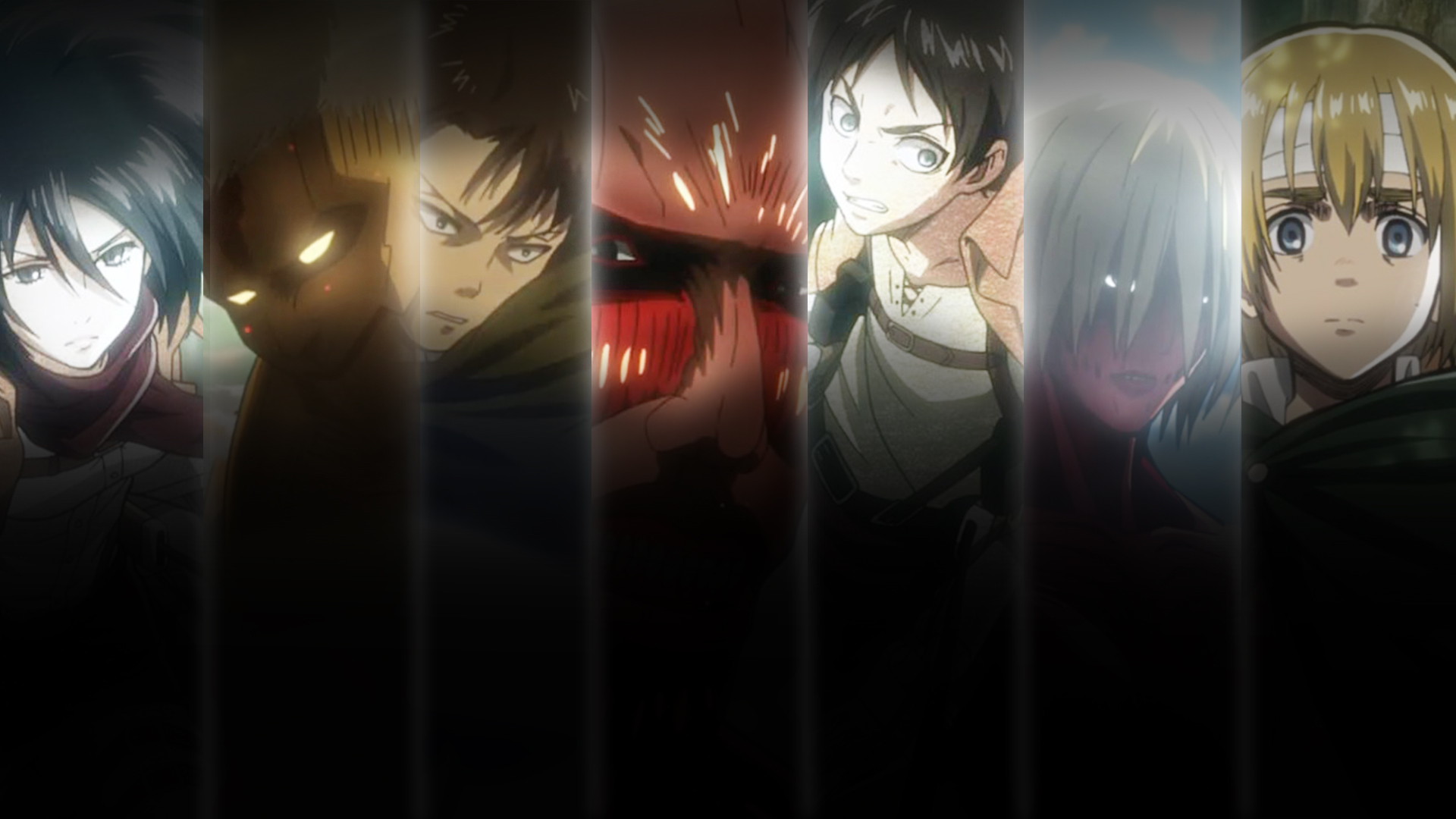 Shingeki No Kyojin Wallpaper By Jondedy On Deviantart
