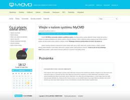 MYCMD admin system