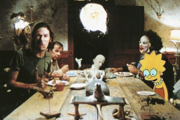 Texas chainsaw massacre dinner scene by marques-craft on
