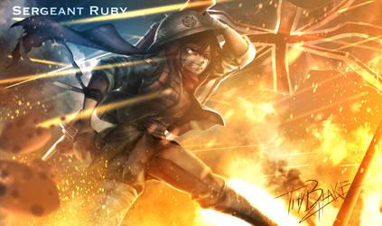 RWBY [WW2 Nations] UK - Ruby
