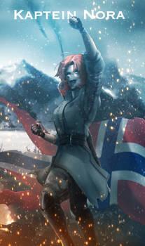 RWBY [WW2 Nations] Norway - Nora