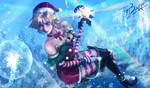 Christmas Elf Lux by ThyBlake