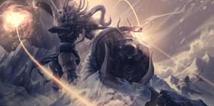 Kretta: The Boreal Ruler [Illustration]