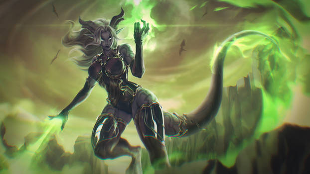 Corrupted Draenei [Commission]