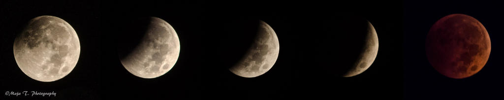 Lunar eclipse - October 8, 2014