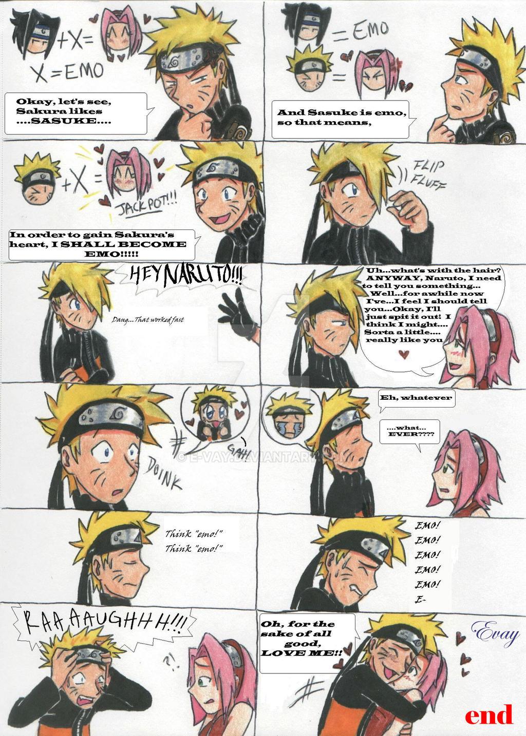 Naruto's Plot by E-vay