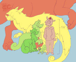 Chimereon Size Chart by ground-lion