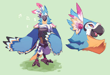 Kass by ground-lion