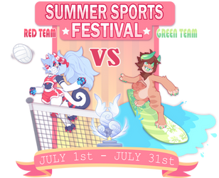Summer Sports Festival: Chimereon Group Event! by ground-lion