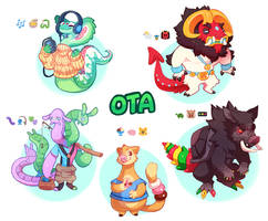 Emoticon Adoptables/OTA -CLOSED- by ground-lion