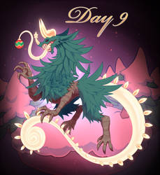 Holiday Raffle: Christmas Tree Horror by ground-lion