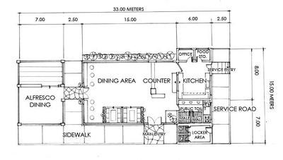 Cafe floor plan by shintenshi on deviantart for Coffee shop floor plan with dimensions