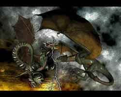 Dragons by adambn