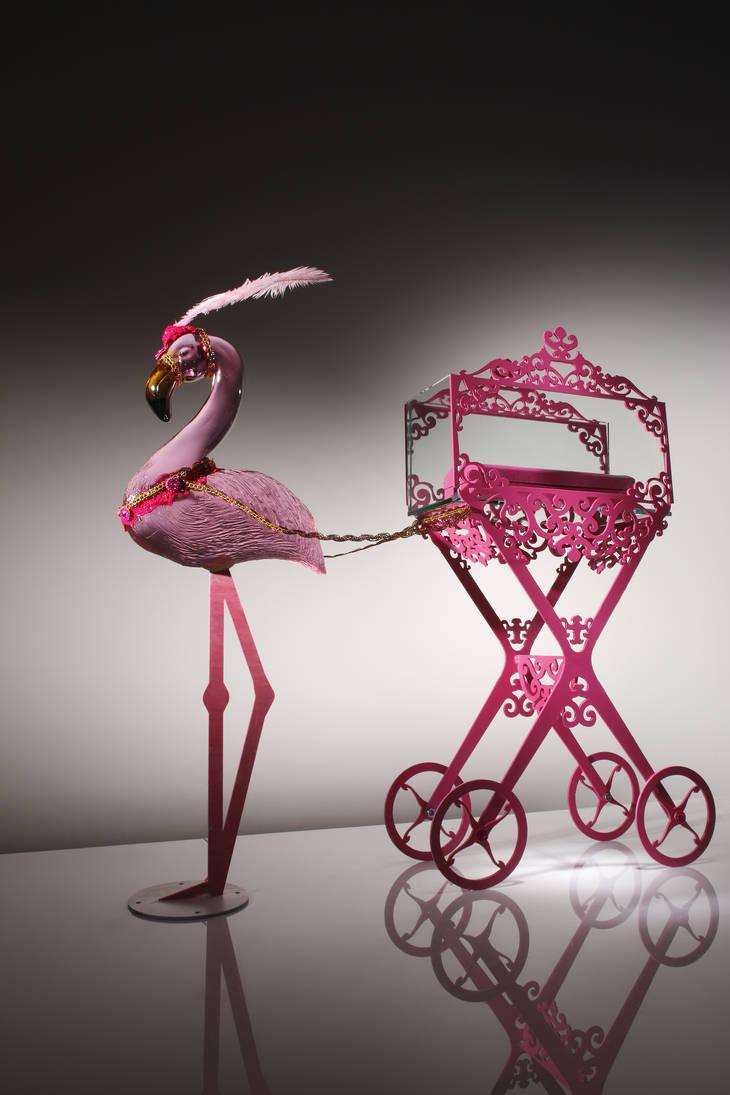 Ringo the flamingo