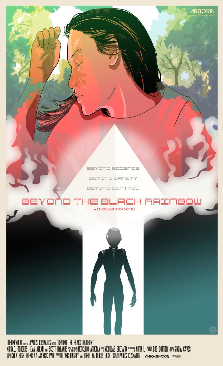 Risultati immagini per beyond the black rainbow poster