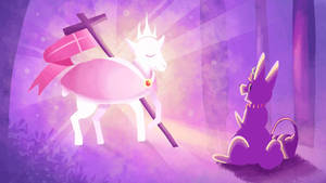 The Bunny and The Lamb of God
