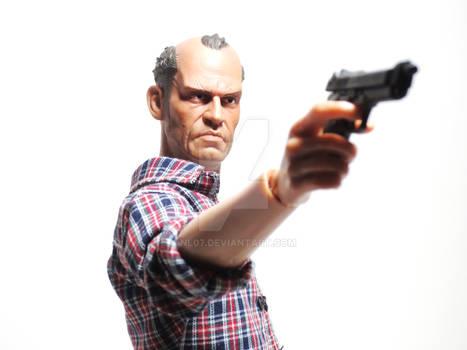 1/6 Scale Grand Theft Auto V Custom Trevor 6