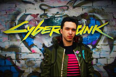 Cyberpunk 2077 cosplay 1
