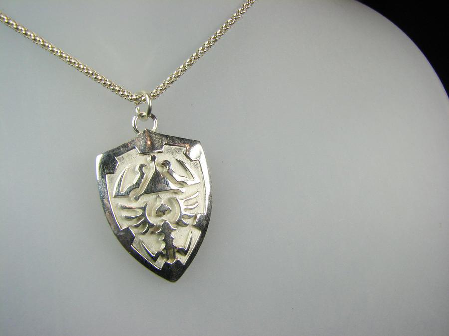 Zelda Shield Pendant by Joshuadsanchez