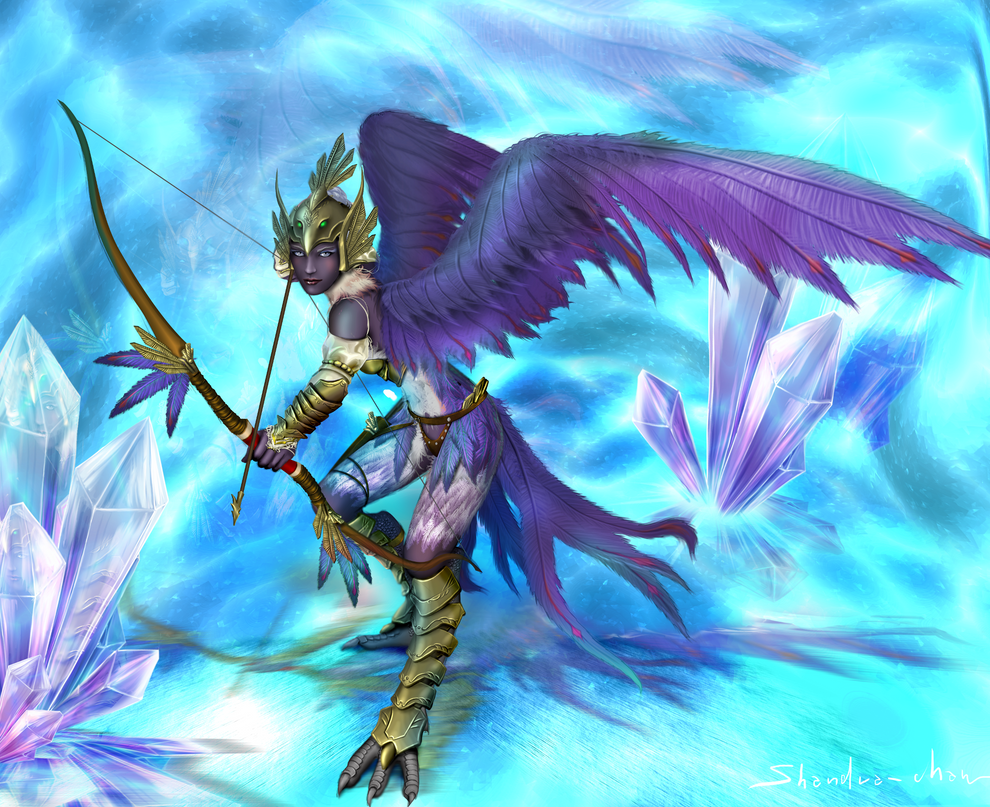 Windcaster: crystallise by Shandra-chan