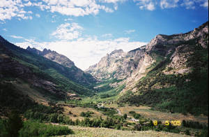 A Glacially Formed Canyon