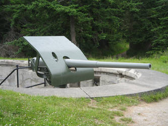 Fort Casey State Park: Gun 8 by rifka1
