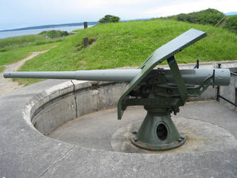Fort Casey State Park: Gun 10 by rifka1