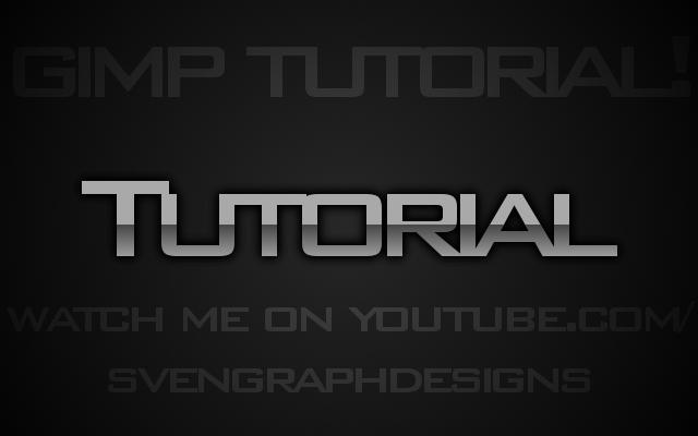 gimp tutorial text:
