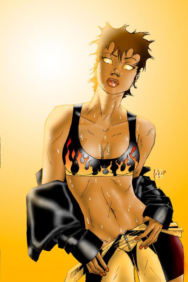 It's Gettin' Hot In Herrrrre by SlimmmGoodie