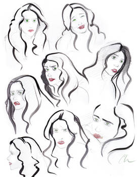 Reference Sketching-Lena