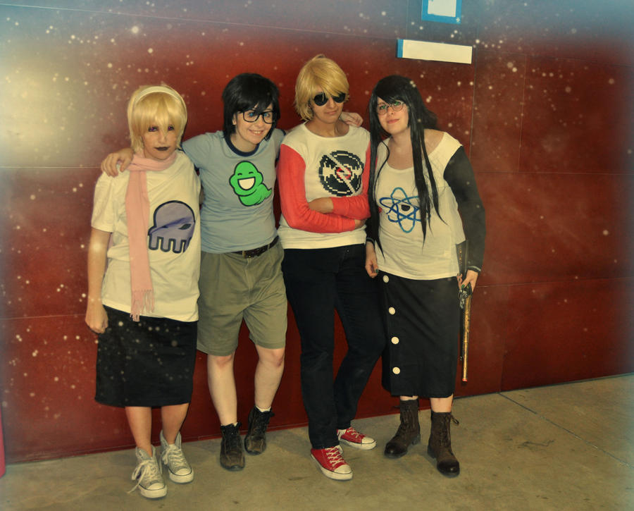 Beta friends - Homestuck by Megumi-Nightwack