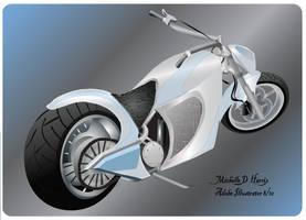 A custom made Chopper by michelledh