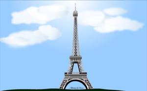 Eiffel Tower - Paris France by michelledh