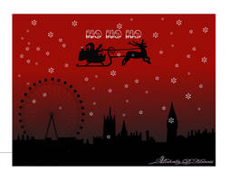 London Skyline at Christmas by michelledh