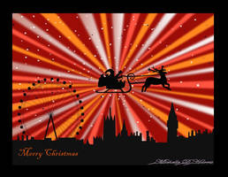 London Skyline at Christmas 2 by michelledh