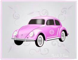 VW Beetle - Love bug by michelledh