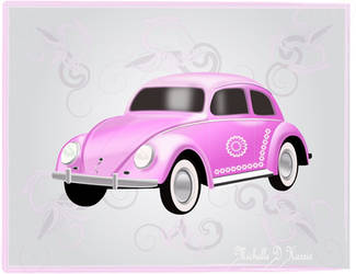 VW Beetle - Love bug by michelledh