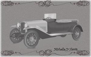 Vintage Car by michelledh