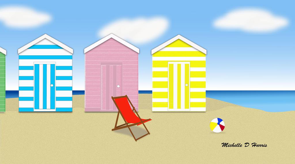 Beach Huts 2016 by michelledh
