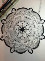 Mandala by michelledh