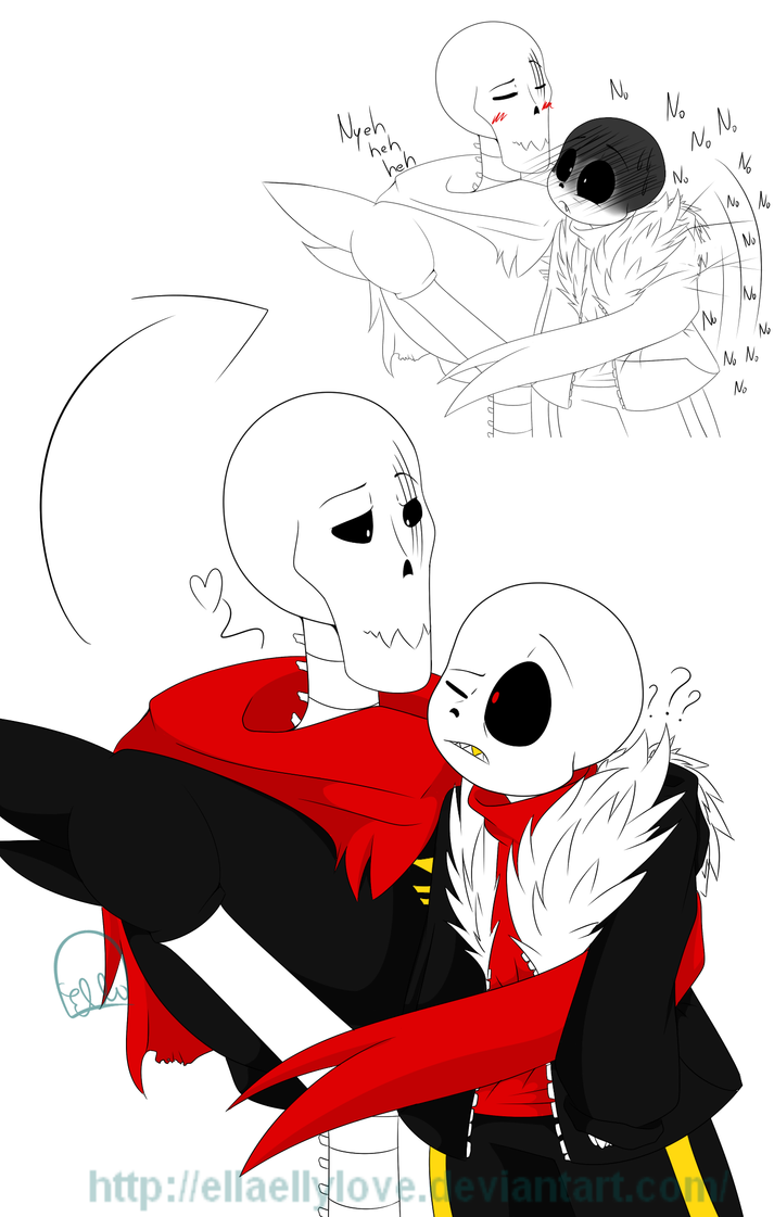 Top Underfell Sans X Papyrus Underfell Images For