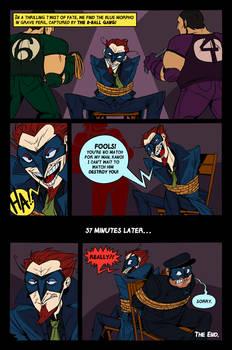 Blue Morpho Comic