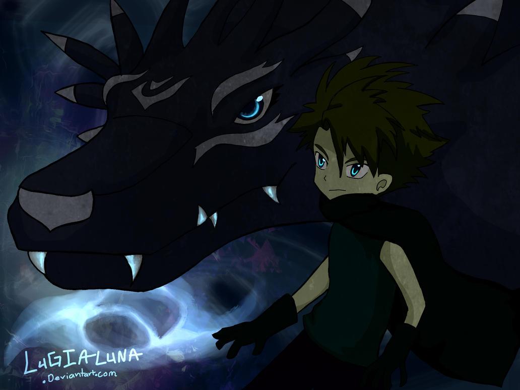 The shadow of friendship by LugiaLuna