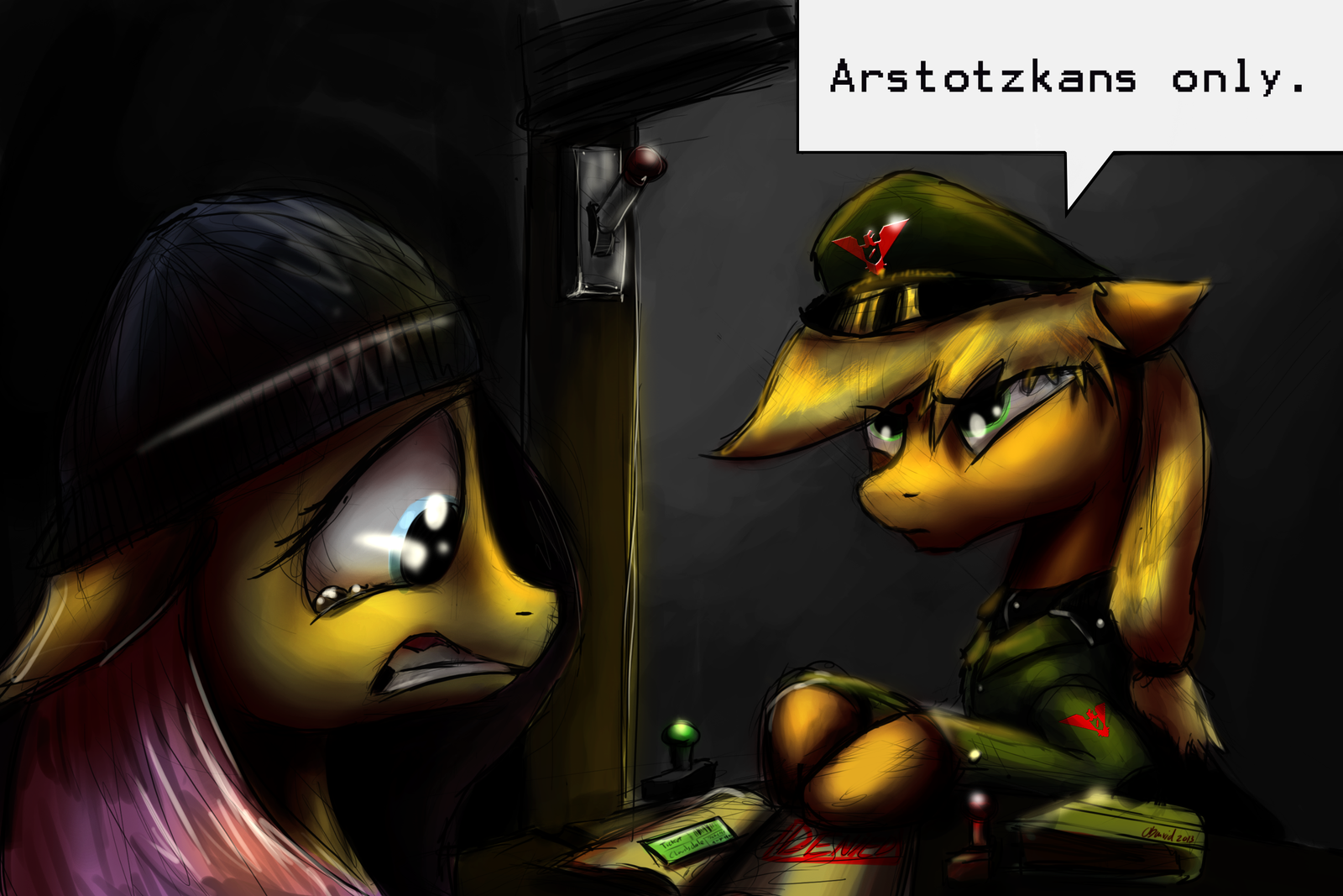 Glory To Arstotzka! by duh-veed