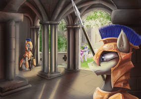 Palace Guard by duh-veed