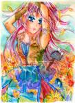 Crystal -GarnetRacoon Contest by YurikaImai