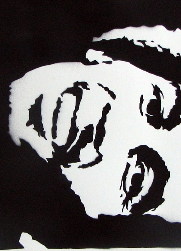 Bob Marley Stencil Tem...