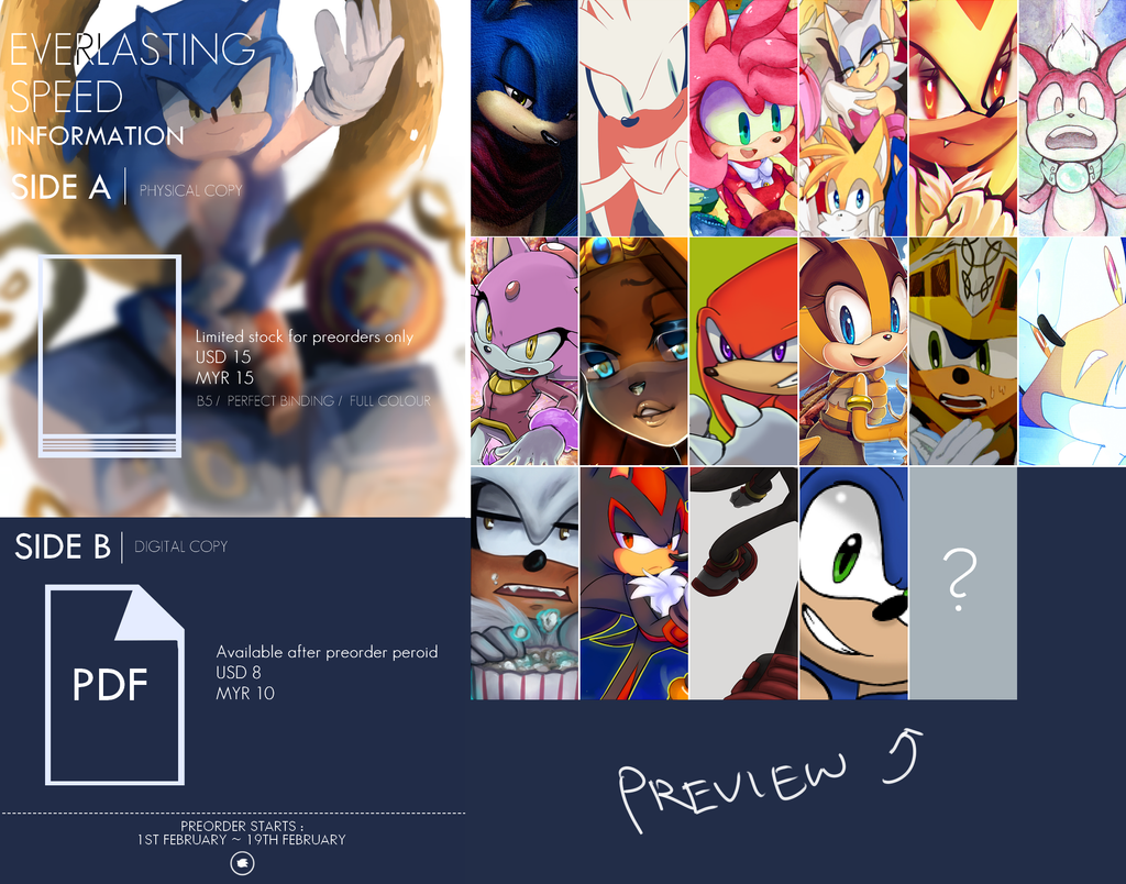 Everlasting Speed - Unofficial sonic fanbook by HarunaAki