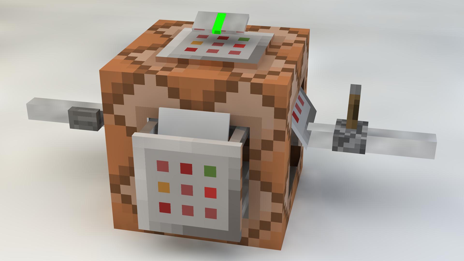 Как сделать пустую сферу в minecraft